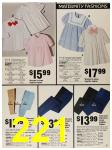 1987 Sears Spring Summer Catalog, Page 221