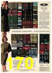 1965 Sears Fall Winter Catalog, Page 170