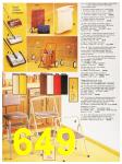 1987 Sears Fall Winter Catalog, Page 649