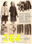 1960 Sears Fall Winter Catalog, Page 384