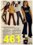 1972 Sears Fall Winter Catalog, Page 461