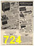 1973 Sears Fall Winter Catalog, Page 724