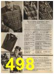 1968 Sears Fall Winter Catalog, Page 498