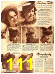1940 Sears Fall Winter Catalog, Page 111