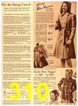 1940 Sears Fall Winter Catalog, Page 310