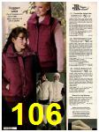 1982 Sears Fall Winter Catalog, Page 106
