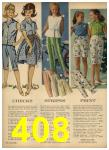 1962 Sears Spring Summer Catalog, Page 408