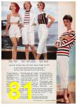 1957 Sears Spring Summer Catalog, Page 81
