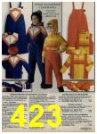 1979 Sears Fall Winter Catalog, Page 423