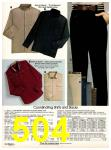 1982 Sears Fall Winter Catalog, Page 504
