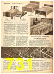 1958 Sears Fall Winter Catalog, Page 731
