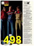 1978 Sears Fall Winter Catalog, Page 498