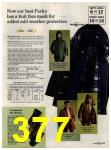 1972 Sears Fall Winter Catalog, Page 377