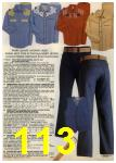 1980 Sears Fall Winter Catalog, Page 113