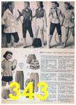1957 Sears Spring Summer Catalog, Page 343