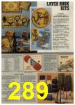 1979 Sears Fall Winter Catalog, Page 289