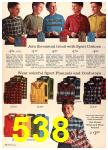 1960 Sears Fall Winter Catalog, Page 538