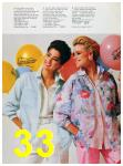 1986 Sears Spring Summer Catalog, Page 33