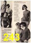 1965 Sears Fall Winter Catalog, Page 243