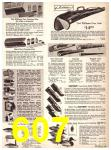 1969 Sears Fall Winter Catalog, Page 607