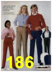 1980 Sears Fall Winter Catalog, Page 186