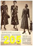 1949 Sears Spring Summer Catalog, Page 205