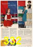 1962 Sears Fall Winter Catalog, Page 332