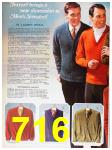 1967 Sears Fall Winter Catalog, Page 716