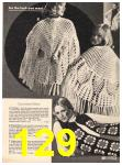 1973 Sears Fall Winter Catalog, Page 129