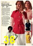 1974 Sears Spring Summer Catalog, Page 38