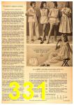 1958 Sears Spring Summer Catalog, Page 331