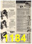 1972 Sears Fall Winter Catalog, Page 1184