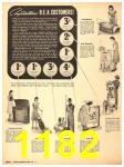 1940 Sears Fall Winter Catalog, Page 1182