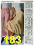1988 Sears Spring Summer Catalog, Page 183