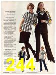 1971 Sears Fall Winter Catalog, Page 244