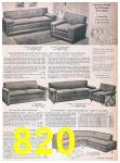 1957 Sears Spring Summer Catalog, Page 820