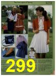 1984 Sears Spring Summer Catalog, Page 299