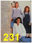 1987 Sears Fall Winter Catalog, Page 231