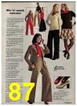 1973 Sears Fall Winter Catalog, Page 87
