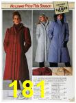 1985 Sears Fall Winter Catalog, Page 181