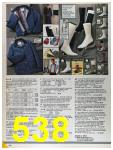 1986 Sears Fall Winter Catalog, Page 538