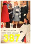 1960 Sears Fall Winter Catalog, Page 387