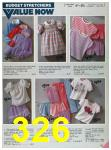 1985 Sears Spring Summer Catalog, Page 326