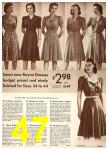 1942 Sears Spring Summer Catalog, Page 47