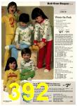 1977 Sears Fall Winter Catalog, Page 392