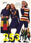 1971 Sears Fall Winter Catalog, Page 253
