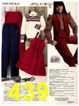 1982 Sears Fall Winter Catalog, Page 439