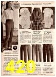 1966 Montgomery Ward Fall Winter Catalog, Page 420