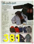 1986 Sears Fall Winter Catalog, Page 381