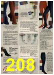 1980 Sears Fall Winter Catalog, Page 208